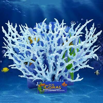 Aquarium Fish Tank Artificial Coral Ornament Aquatic Plants Home Decor Red Creat • 5.91£