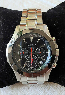 $ CDN113.34 • Buy Seiko Chronograph 6T63-00G0 Multi-function 100m Japan Made Men's Great Watch