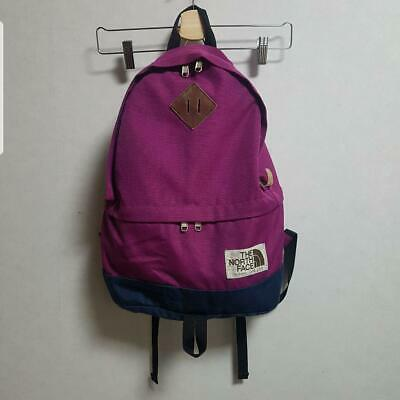 £60.86 • Buy North Face Backpack Purple 21L Pre-Owned