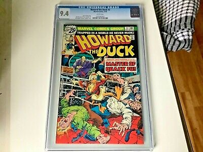 AU189 • Buy Howard The Duck #3 Marvel Comics CGC 9.4 Certified And Slabbed 25c Variant