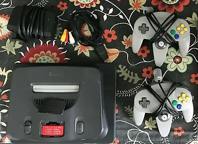 AU199 • Buy Nintendo 64 - N64 Console - Expansion Pack, 2x Genuine Controller