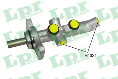 2x Brake Master Cylinders Fits TOYOTA COROLLA NDE180 1.4D 13 To 18 With ABS LPR • 132.28£