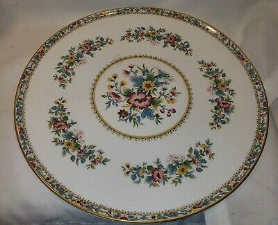 Vintage Coalport Large Ming Rose Serving Plate 11 Inch In Great Condition • 19.99£