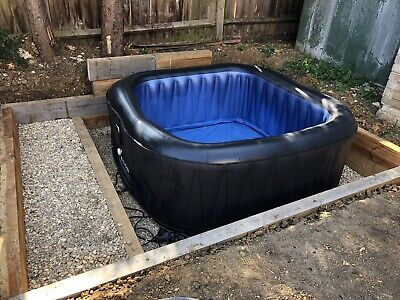 MSpa D-TE06 Tekapo 6-Person Inflatable Hot Tub Jacuzzi Spa Not Lazy Or Canadian • 499£
