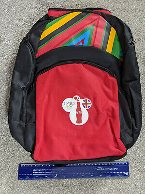 London Olympics 2012 Backpack (Coca-Cola). Prize. Never Used. Pristine. • 6.49£