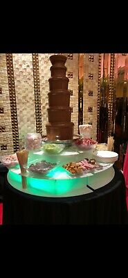 £2800 • Buy Sephra CF34/44R Chocolate Fountain WithIlluminated Surround From Sephra