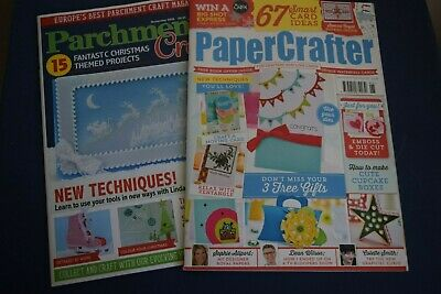 Paper Crafter Issue 95 & Parchment Craft (nov 2016) • 1.99£