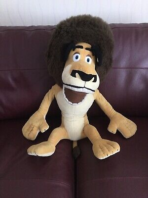 XL Massive Alex The Lion From Madagascar Moves Plush Soft Toy 21  Sitting • 16.99£