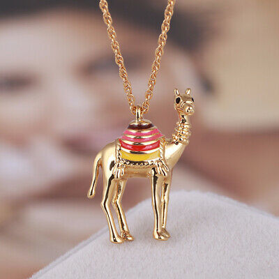 $ CDN21.09 • Buy Kate Spade Camel  Pendant Gold 18  Necklace W/Dust Bag And Gift Box
