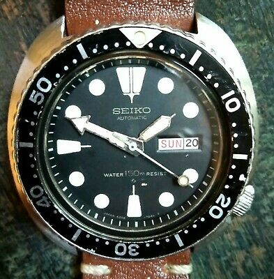 $ CDN398.69 • Buy SEIKO Diver 6309-7040 Vintage Turtle Automatic Watch Japan Preowned