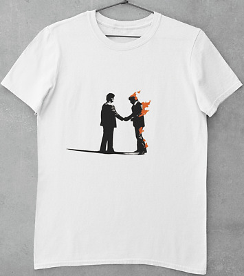 £10.50 • Buy Pink Floyd Wish You Were Here/white T-shirt