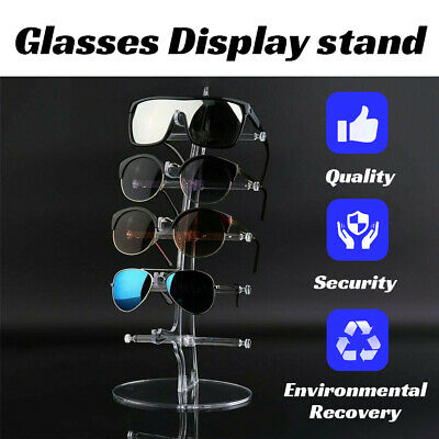 AU11.99 • Buy 5 Pair Rack Show Sunglasses Glasses Display Stand Holder Plastic Counter