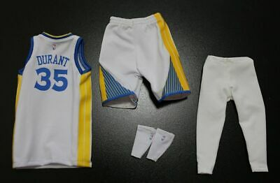 $32.99 • Buy Custom 1/6 Kevin Durant Golden State Warrior Jersey NBA TOYs 35 Fit Enterbay