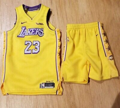 $51.99 • Buy Custom 1/6 Hot Lebron James Lakers Yellow Jersey Fit Enterbay Figures Toys