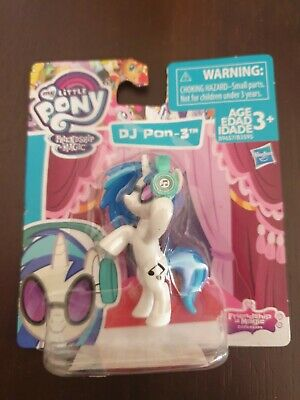 My Little Pony Collectible Mini 5cm Figure Pinkie D.J Pon-3 Carded New • 6.99£