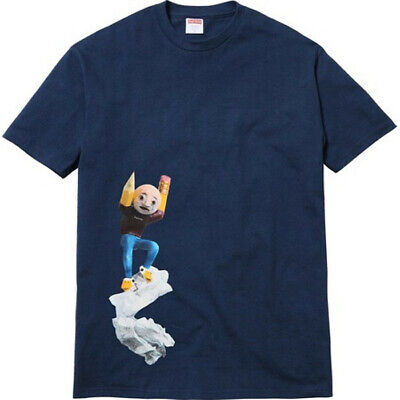 $ CDN164.78 • Buy New Supreme X Mike Hill Regretter T Shirt Size Large Navy Blue Sealed In Bag!