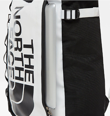 The North Face Unisex New Base Camp Durable Tote Bag Bagpack White/Black • 95£