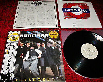 MADNESS - ABSOLUTELY - JAPANESE VINYL LP - Suggs Stiff Two 2 Tone Record Cd Dvd • 49.99£