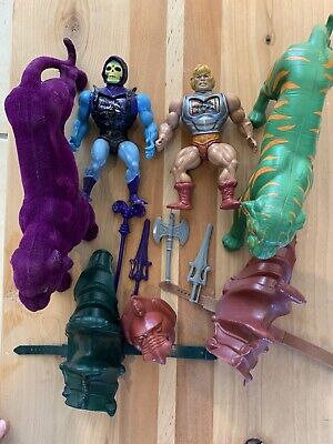 $50 • Buy He-man MOTU Masters Of The Universe Skeletor Battle Armor Battle Cat Panthor