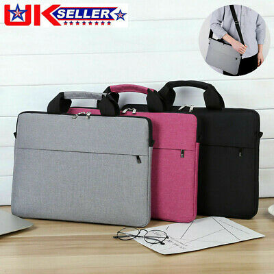15.3 Inch Laptop PC Waterproof Shoulder Bag Carrying Soft Notebook Case Cover UK • 9.99£
