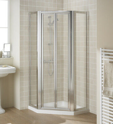 Lakes Shower Pentagon Side Panels Clear Glass 350 X 1850 X 6mm LPE34-40 05 • 80£