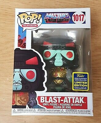 $5.50 • Buy Funko POP! Masters Of The Universe Blast-Attack SDCC Shared MINT W Protector