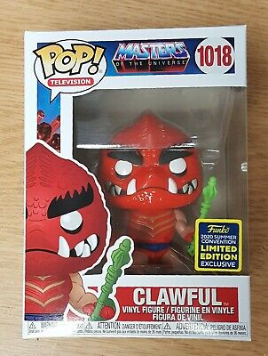 $7.50 • Buy Funko POP! Masters Of The Universe Clawful SDCC Shared MINT W Protector