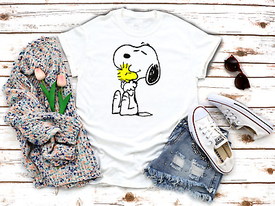 £7.99 • Buy Snoopy Dog Peanuts Charlie Brown Woman 3/4 Short Sleeve Top Quality T Shirt A136