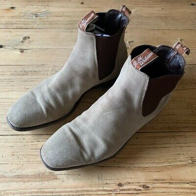 AU250 • Buy RM Williams Craftsman Suede Leather Boots