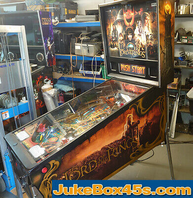 Lord Of The Rings Pinball Machine - Beautiful  Condition - Warranty • 7,140£