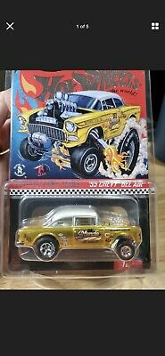 $44.99 • Buy 2019 Hot Wheels RLC Selections '55 Chevy Bel-Air Gasser Dirty Blonde Free Ship