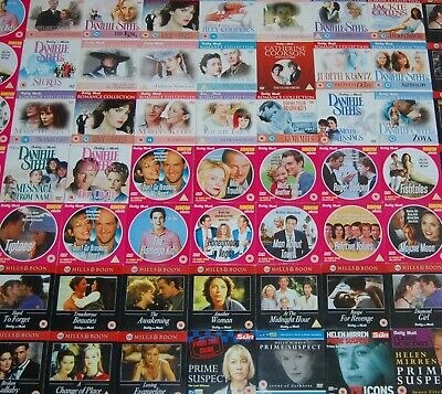 DVD's - £1.99 - BUY 2 RECIEVE Another 1 FREE - ROMANCE / ACTION - FREE DELIVERY • 1.99£