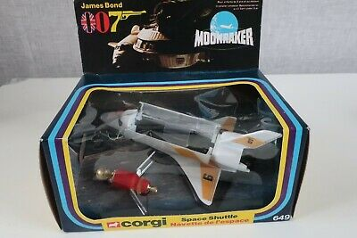 Vintage Corgi 649 James Bond 007 Moonraker Space Shuttle • 85£