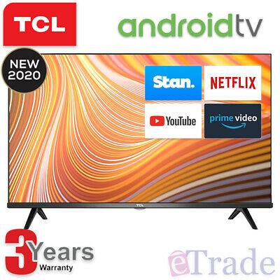 AU439 • Buy 2020 TCL 40  Inch Full HD LED Smart TV Netflix Android 40S615 + 3 Yr Warranty