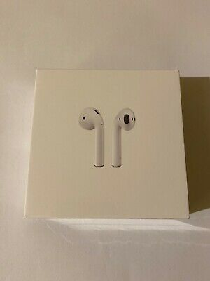 AU220 • Buy New Apple AirPods (Genuine) 2nd Generation With Charging Case - White