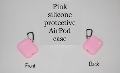 $ CDN6 • Buy AirPods Silicone Case Cover Protective Skin For Apple Airpod Charging + Keychain