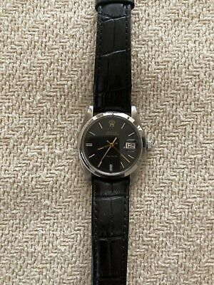 $ CDN2411.65 • Buy Vintage Rolex Oyster Date Precision  6694 Black Dial Mens Watch. Circa 1978.