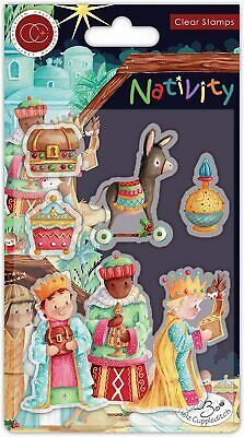 THREE WISE MEN - Clear Stamp Set - Nativity Collection - Craft Consortium • 4.99£