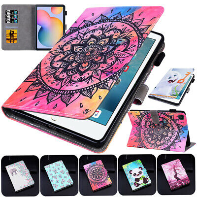 Tablet Cute Panda Pattern Stand Case For Samsung Galaxy Tab S6 Lite P610/P615 • 10.46£