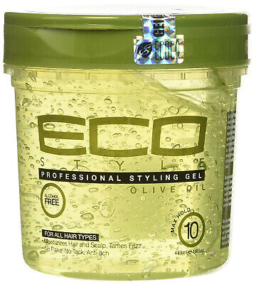 £5.49 • Buy ECO Style Professional Styling Gel Olive Oil Max Hold Alcohol Free 473ml