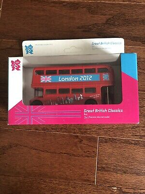 $ CDN20.10 • Buy New London 2012 Olympics Great British Classics Red Double Decker Bus
