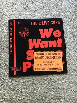 $ CDN13.41 • Buy 2 Live Crew - We Want Some Pussy- 12  Vinyl 1987 - Nm 1st Press
