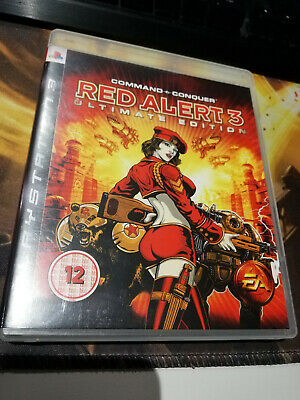 AU5 • Buy Command And Conquer: Red Alert 3 2009 - PS3/Playstation 3 Game PAL Complete
