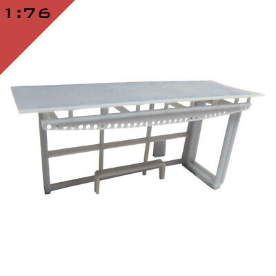 £15 • Buy 1x 3D Printed BUS STOP SHELTER 1:76, OO Model Miniature Scenery Layout Diorama