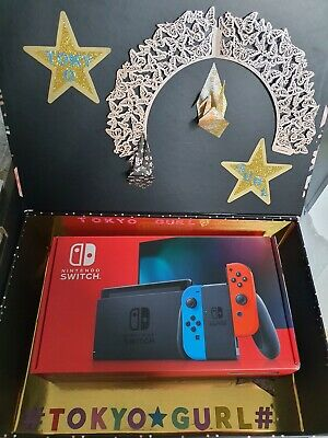 AU420 • Buy Nintendo Switch Console Neon AS NEW IN BOX With Zombieland Double Tap