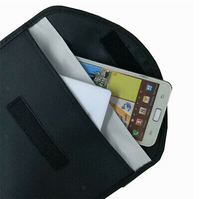 RF Signal Blocker Anti-Radiation Anti-tracking Anti-spying Shield Case Bag Pouch • 7.76£