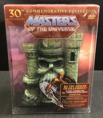 $296.20 • Buy He-man Masters Of The Universe 30th Anniversary Collection (2012, 30th, DVD OOP)