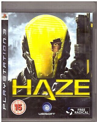 PS3 - Haze (Sony PlayStation 3, 2008) - MACHINE CLEANED • 1.99£