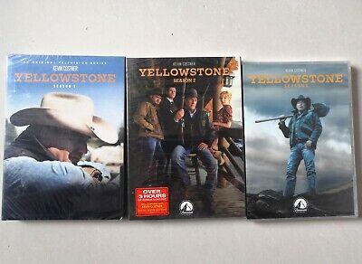 AU50.99 • Buy Yellowstone Season 1-3 DVD Complete Series 1 2 3 Season 3 Brand New