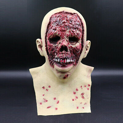 $ CDN27.99 • Buy Halloween Scary Latex Mask Skeleton Face Mask Costume Party Prop Cosplay New